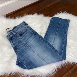 Lucky Brand Remade Ava Slim Straight Jeans Size 4